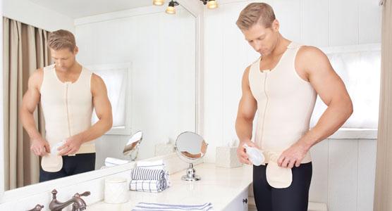 男士吸脂术后应用产品