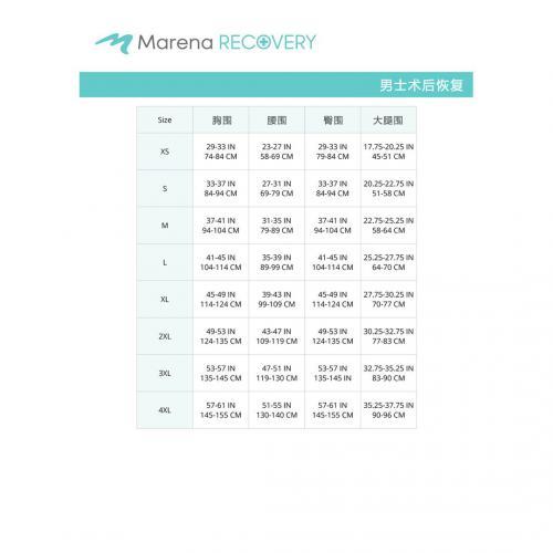 MB尺码表