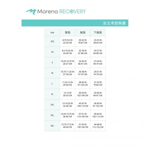 FV2L尺码表